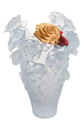 Мужского ваза roses DAUM прозрачного цвета, арт. 05376-2 | Фото 1