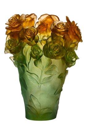 Мужского ваза roses DAUM разноцветного цвета, арт. 05282-2 | Фото 1