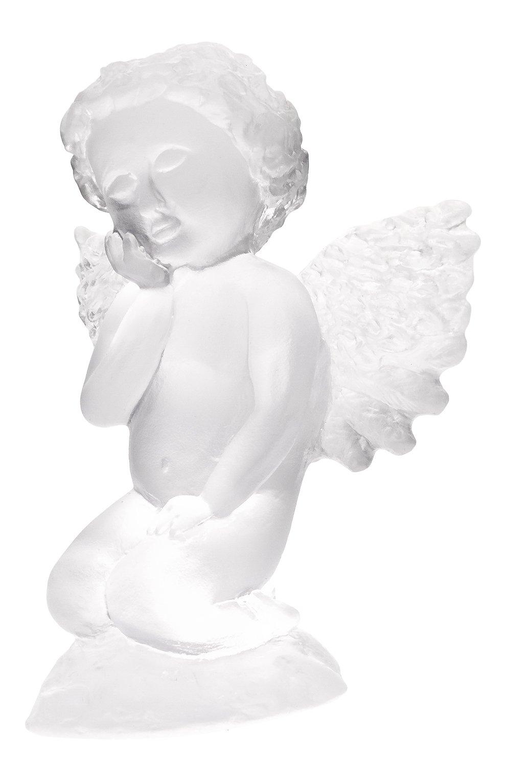 Мужского скульптура ангел DAUM прозрачного цвета, арт. 05570 | Фото 1
