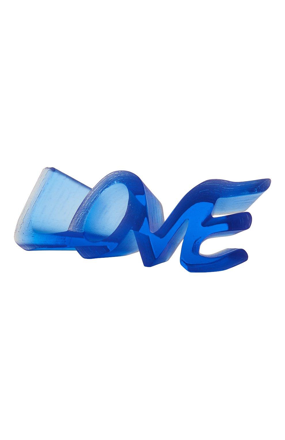 Мужского скульптура true love DAUM синего цвета, арт. 05594-1 | Фото 1