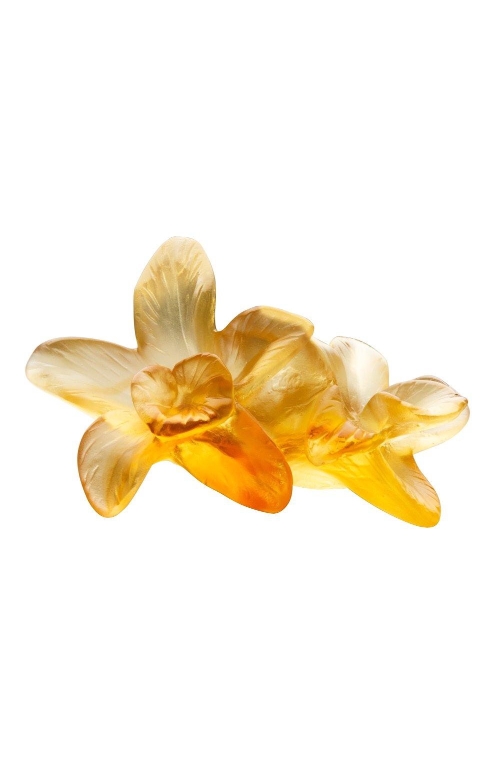 Мужского цветок tressage DAUM желтого цвета, арт. 05655 | Фото 1