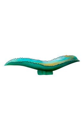 Блюдо на центр стола agave leaf DAUM зеленого цвета, арт. 05683 | Фото 1