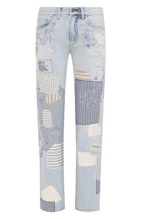 Женские джинсы RALPH LAUREN голубого цвета, арт. 290822211 | Фото 1