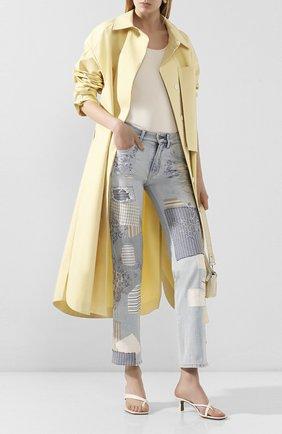 Женские джинсы RALPH LAUREN голубого цвета, арт. 290822211 | Фото 2