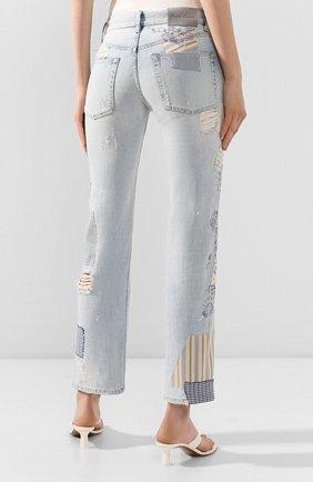 Женские джинсы RALPH LAUREN голубого цвета, арт. 290822211 | Фото 4