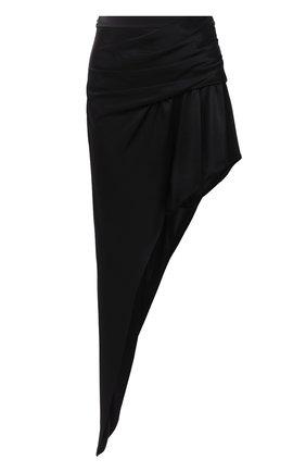 Женская юбка ALEXANDER WANG черного цвета, арт. 1WC1205147 | Фото 1