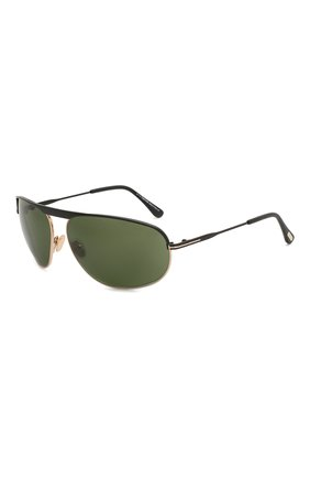 Мужские солнцезащитные очки TOM FORD черного цвета, арт. TF771 08V | Фото 1