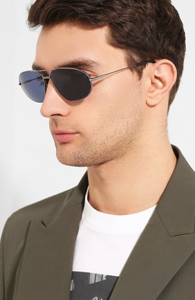 Мужские солнцезащитные очки TOM FORD черного цвета, арт. TF771 08V | Фото 2