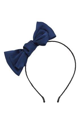 Детская ободок soft bow JUNEFEE синего цвета, арт. 6440 | Фото 1