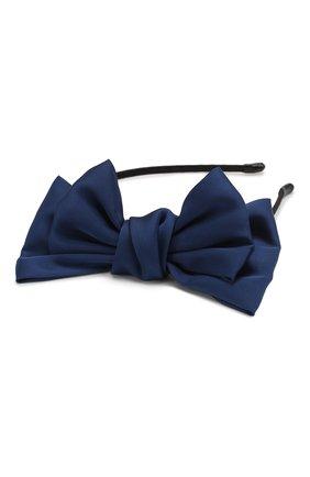 Детская ободок soft bow JUNEFEE синего цвета, арт. 6440 | Фото 2