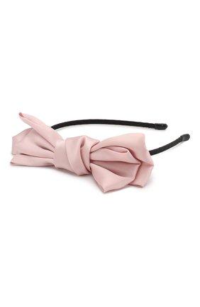 Детская ободок soft bow JUNEFEE бежевого цвета, арт. 6441 | Фото 2