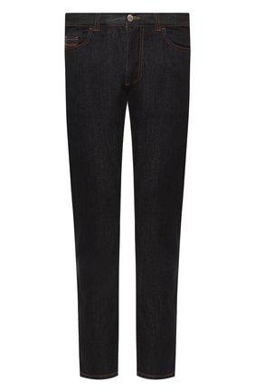 Мужские джинсы CANALI черного цвета, арт. 91717/PD00018 | Фото 1