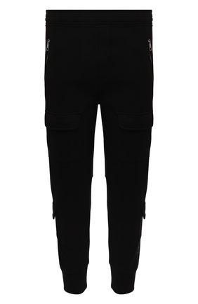 Мужской джоггеры NEIL BARRETT черного цвета, арт. PBJP178/P501S | Фото 1