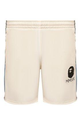 Мужские шорты BAPE бежевого цвета, арт. 1G30153009   Фото 1