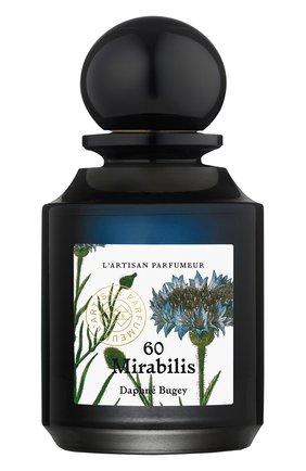 Женский парфюмерная вода 60 mirabilis L'ARTISAN PARFUMEUR бесцветного цвета, арт. 3660463004617 | Фото 1