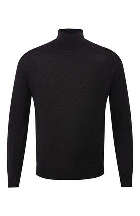 Мужской шерстяная водолазка CANALI темно-серого цвета, арт. C0002/MK00077 | Фото 1