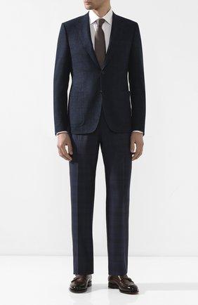 Мужской пиджак из шерсти и кашемира CANALI темно-синего цвета, арт. 11288/CF01756/112 | Фото 2