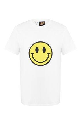 Мужская хлопковая футболка loewe x paula's ibiza LOEWE белого цвета, арт. H616341X87 | Фото 1