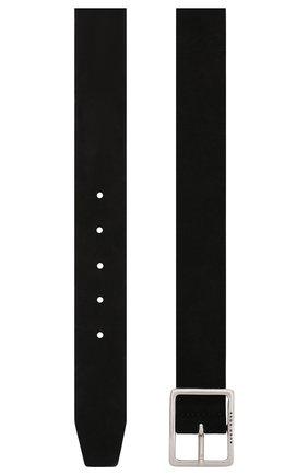 Мужской замшевый ремень BOSS черного цвета, арт. 50435666 | Фото 2
