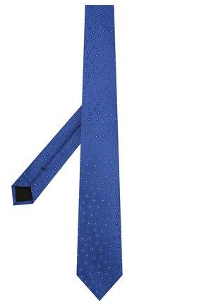 Мужской шелковый галстук BOSS синего цвета, арт. 50434395 | Фото 2