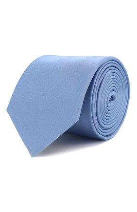 Мужской шелковый галстук HUGO голубого цвета, арт. 50324569 | Фото 1