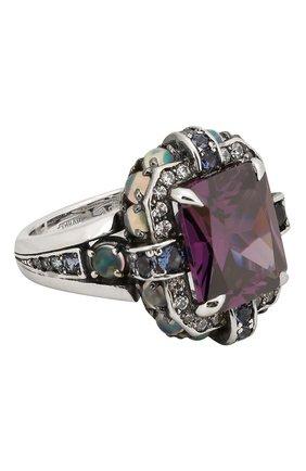 Женское кольцо QUEENSBEE разноцветного цвета, арт. 101374/14,20   Фото 1