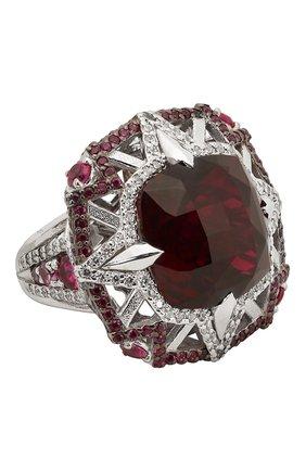 Женское кольцо galaxy QUEENSBEE серебряного цвета, арт. 101324/22,29 | Фото 1