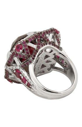 Женское кольцо galaxy QUEENSBEE серебряного цвета, арт. 101324/22,29 | Фото 2