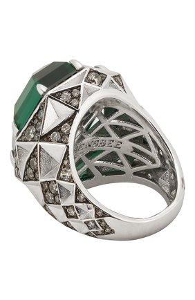 Женское кольцо QUEENSBEE серебряного цвета, арт. 101389/17,85   Фото 2