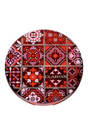 Женская коллекционная бронзирующая пудра bronzing compact CLARINS бесцветного цвета, арт. 80061535 | Фото 2