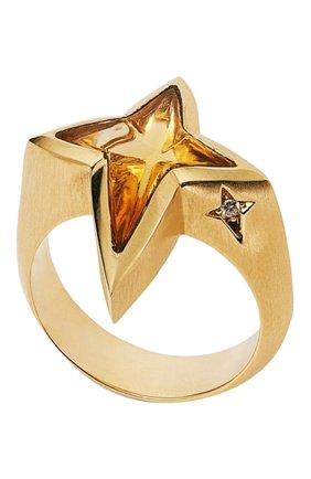 Мужское кольцо STEPHEN WEBSTER желтого золота цвета, арт. 3020625 | Фото 1