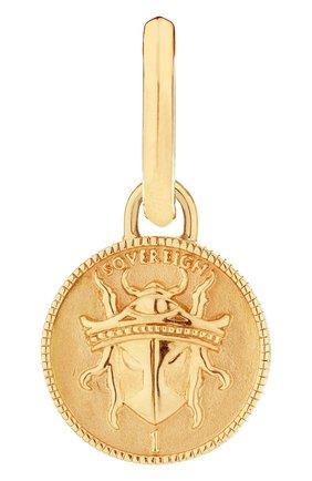 Мужские серьга STEPHEN WEBSTER бесцветного цвета, арт. 3021676 | Фото 1 (Материал сплава: Желтое золото; Драгоценные камни: Без драгоценных камней)