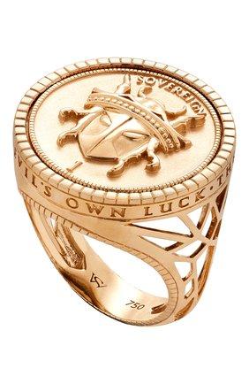 Мужское кольцо STEPHEN WEBSTER желтого золота цвета, арт. 3021681   Фото 1