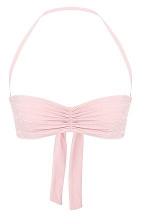 Женский бра-бандо LA PERLA розового цвета, арт. 004593C | Фото 1
