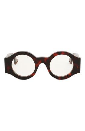 Женские солнцезащитные очки GUCCI коричневого цвета, арт. GG0629 001 | Фото 3