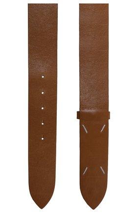 Женский кожаный ремень MAISON MARGIELA коричневого цвета, арт. S56TP0182/PS298 | Фото 2