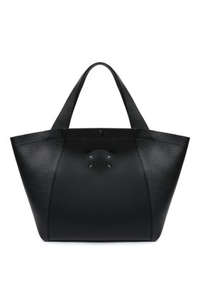 Женская сумка-шопер MAISON MARGIELA черного цвета, арт. S56WC0119/P3647 | Фото 1