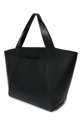 Женская сумка-шопер MAISON MARGIELA черного цвета, арт. S56WC0119/P3647 | Фото 2
