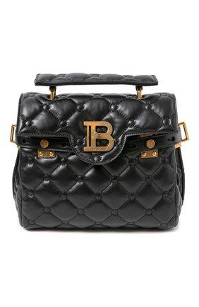 Женская сумка bbuzz 23 BALMAIN черного цвета, арт. UN1S495/LNPW | Фото 1
