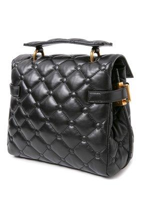 Женская сумка bbuzz 23 BALMAIN черного цвета, арт. UN1S495/LNPW | Фото 2