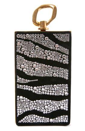 Женский клатч BALMAIN черного цвета, арт. UN1S460/AVZS   Фото 1