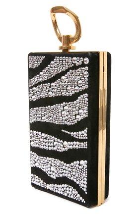 Женский клатч BALMAIN черного цвета, арт. UN1S460/AVZS   Фото 2