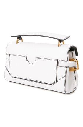 Женская сумка bbuzz 19 BALMAIN белого цвета, арт. UN1S527/LMJC | Фото 2