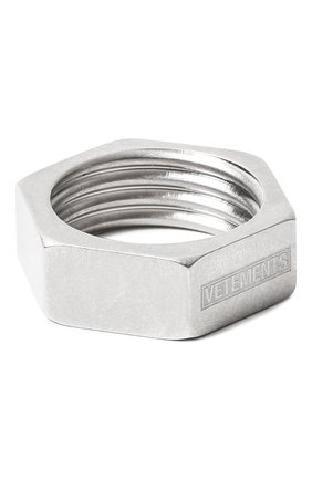Мужское кольцо VETEMENTS серебряного цвета, арт. UAH21RI170/50100 | Фото 1