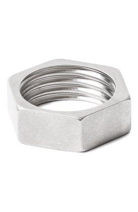 Мужское кольцо VETEMENTS серебряного цвета, арт. UAH21RI170/50100 | Фото 2