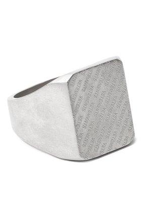 Мужское кольцо VETEMENTS серебряного цвета, арт. UAH21RI172/50100 | Фото 1