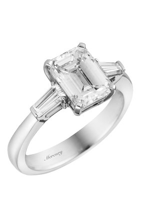 Женские кольцо MERCURY бесцветного цвета, арт. MR200WEDB | Фото 1 (Материал сплава: Белое золото; Драгоценные камни: Бриллианты)