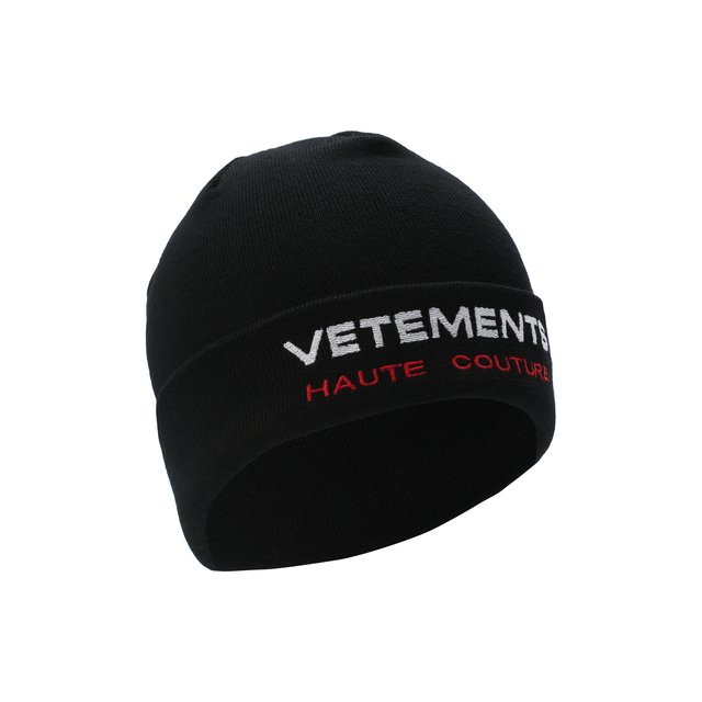 Шерстяная шапка Vetements.