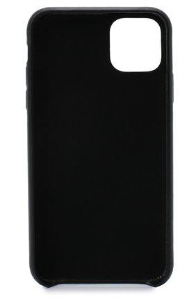 Мужской чехол для iphone 11 pro VETEMENTS черного цвета, арт. UAH21AC280 2471/M/IPH0NE 11 PR0 | Фото 2