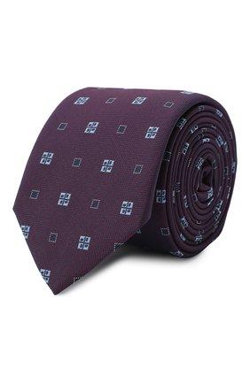 Мужской галстук BOSS фиолетового цвета, арт. 50434855 | Фото 1